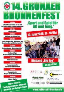 Plakat Brunnenfest